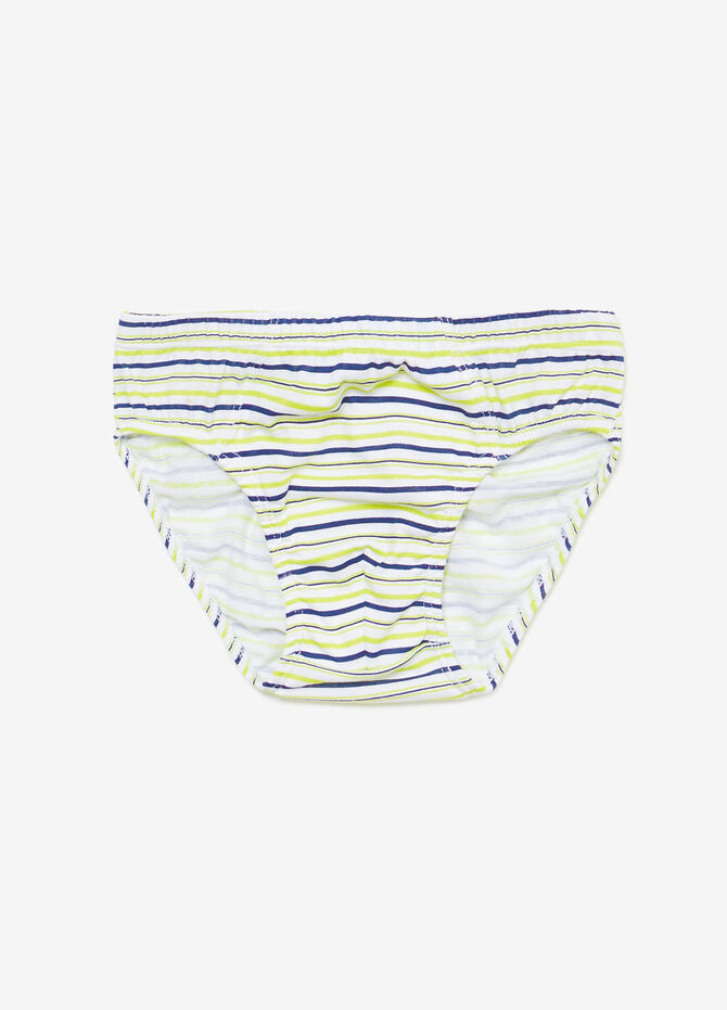Seven-pack printed and patterned cotton briefs