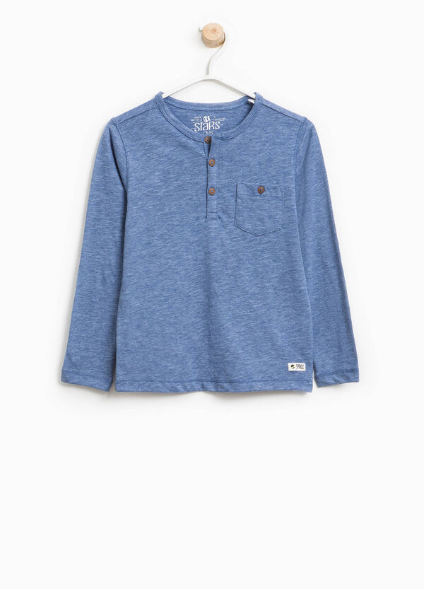 Cotton T-shirt with pocket | OVS