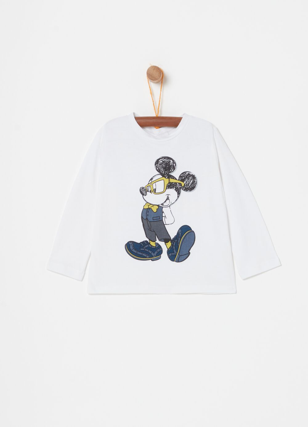 100% organic cotton Disney Mickey Mouse T-shirt