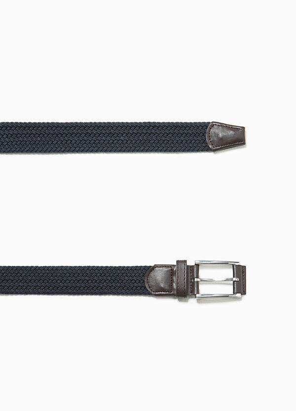 Braided belt with single loop | OVS
