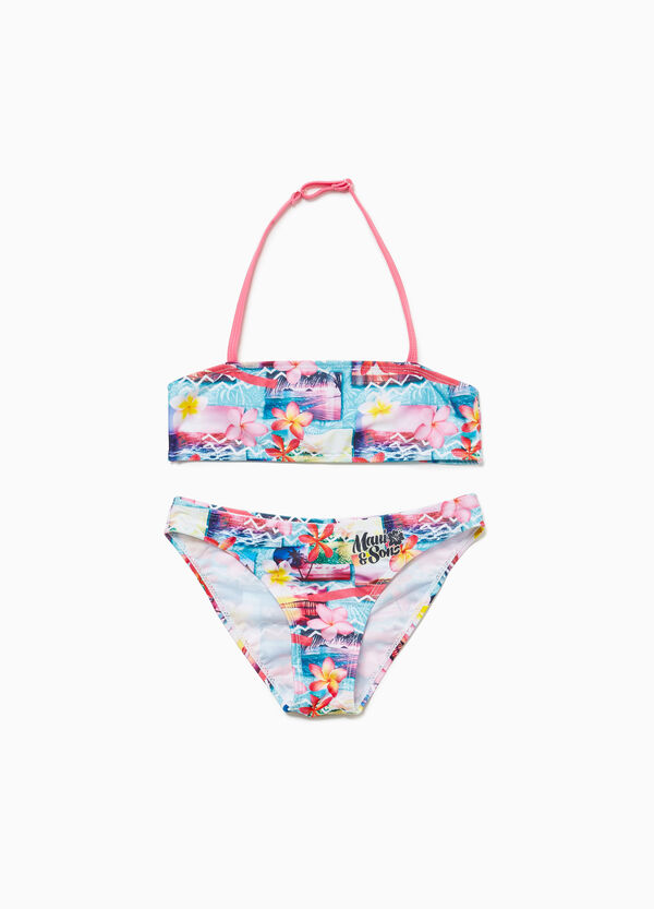 Floral stretch bikini by Maui and Sons