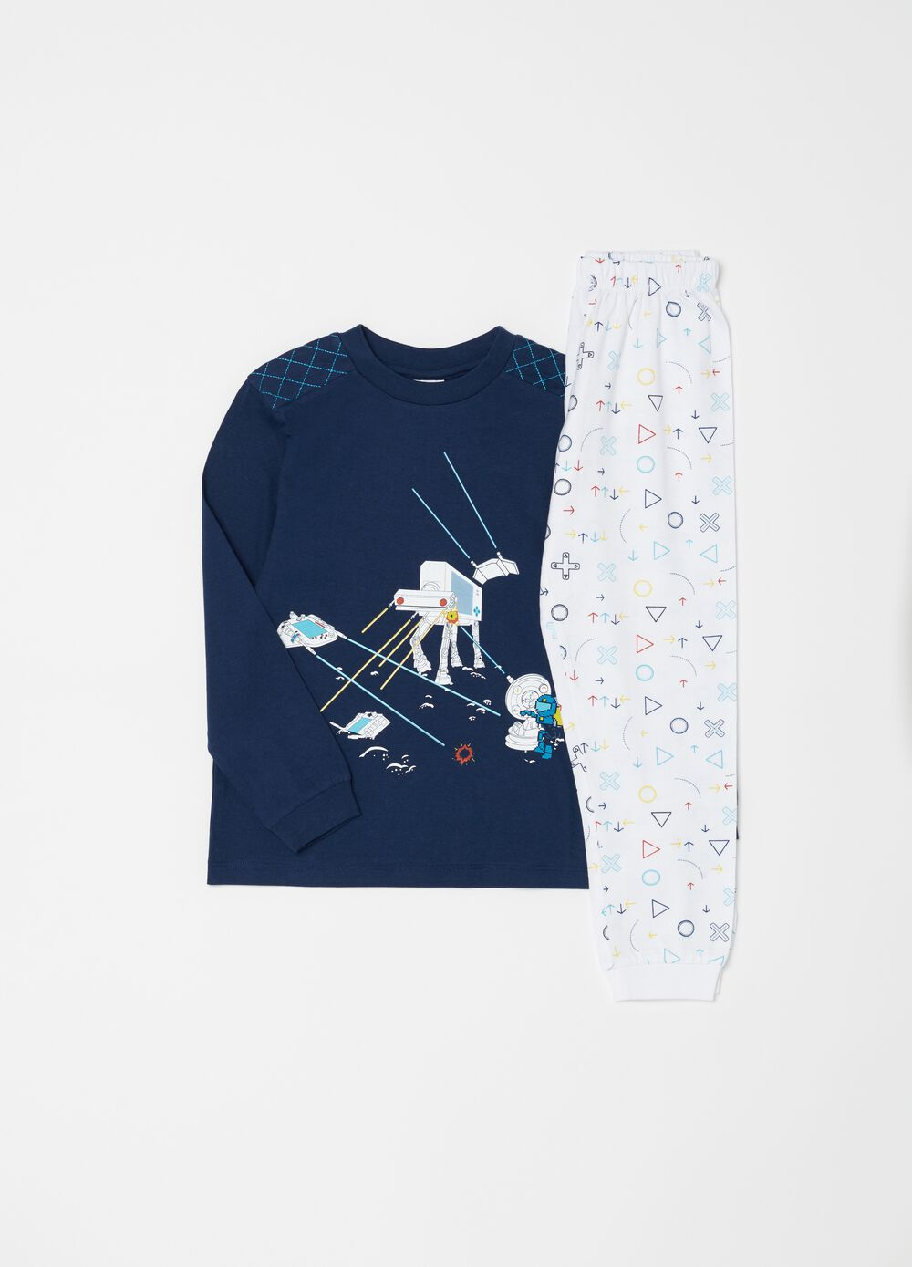 100% organic cotton video games pyjamas