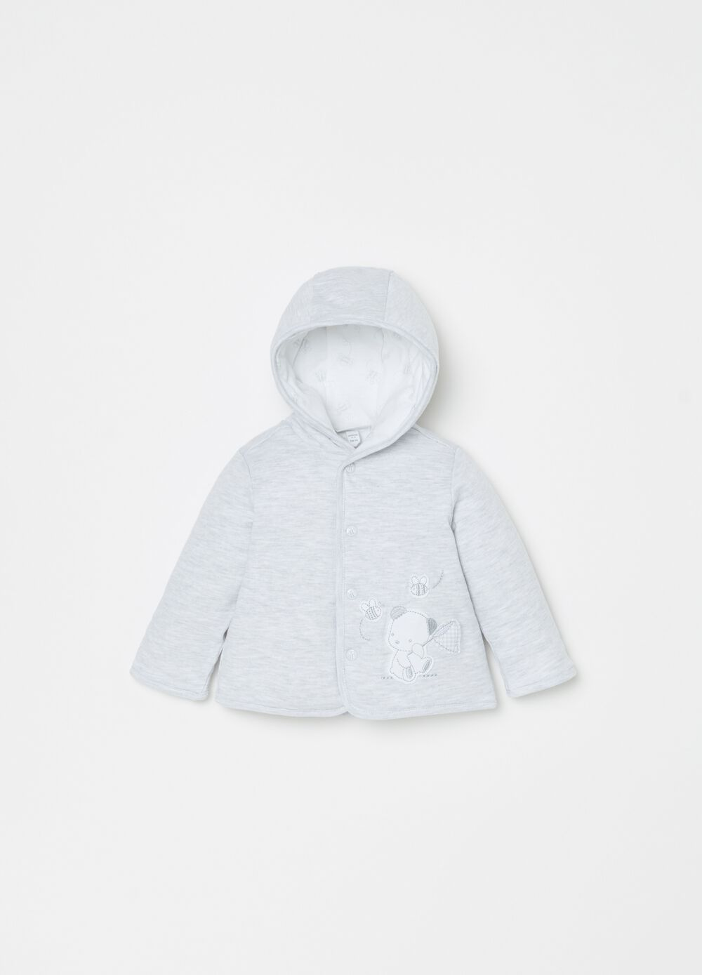 100% organic cotton padded jacket
