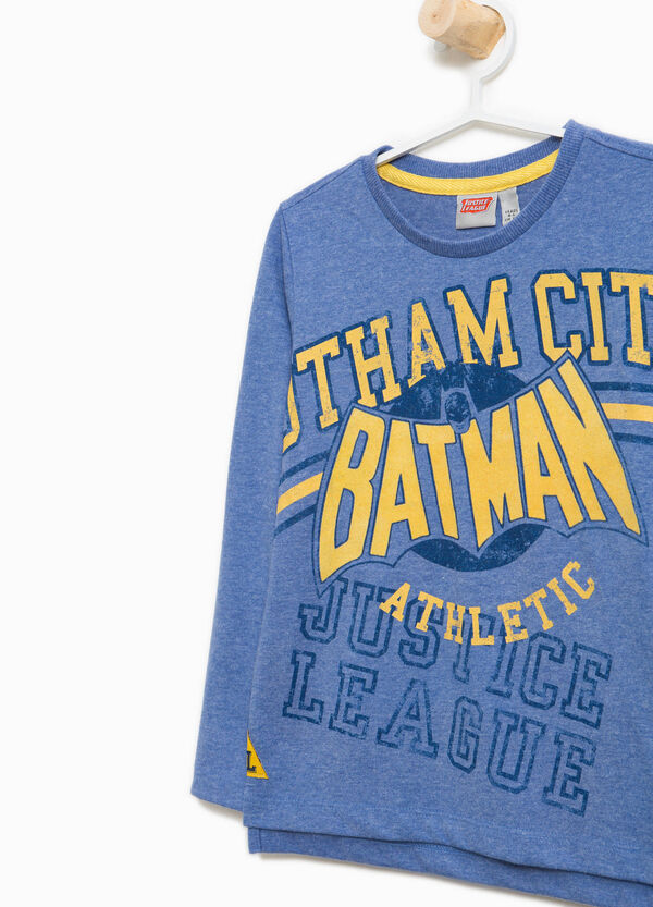 T-shirt in cotone stampata Justice League