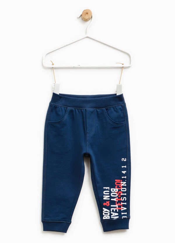 Joggers with double pocket