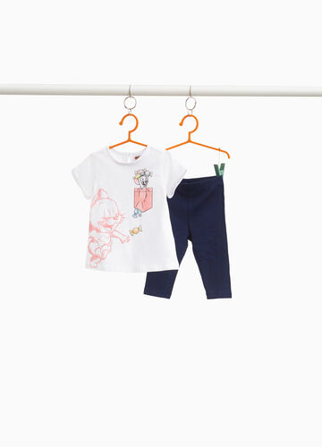 Outfit with Tom & Gerry print