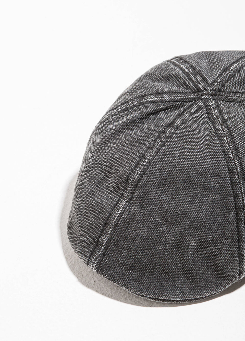 Solid colour cotton cap