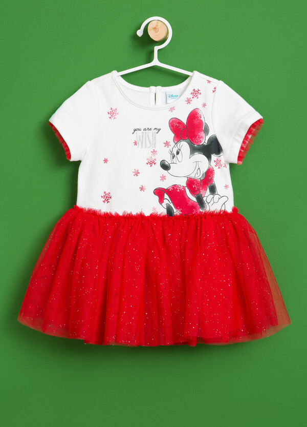 Minnie Mouse stretch cotton dress | OVS