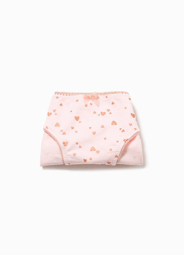 Organic cotton briefs with bow | OVS