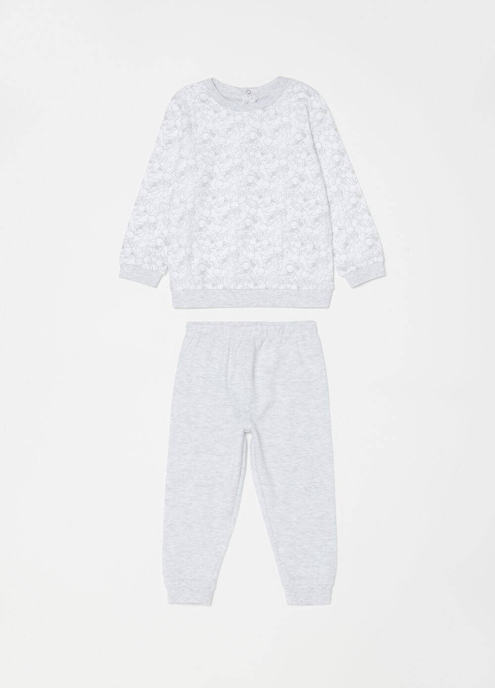 Rabbit pyjamas with top and trousers