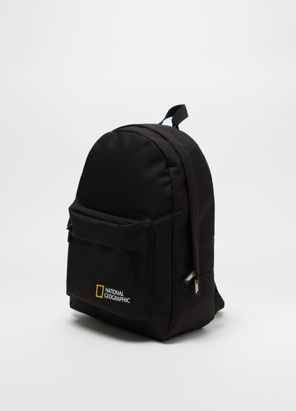 Backpack with National Geographic print