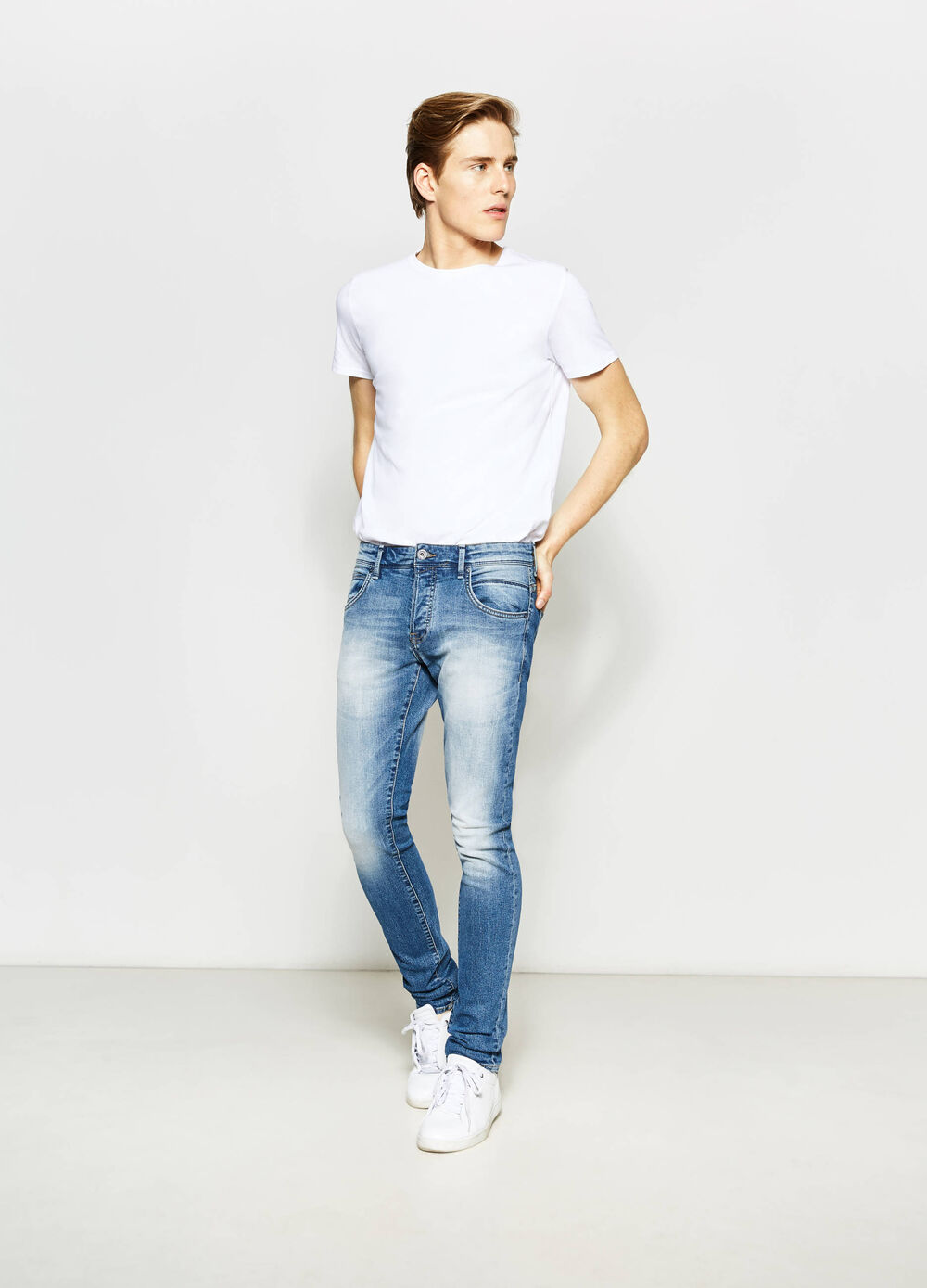 Jeans skinny fit stretch used