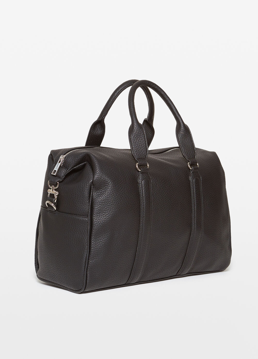Rumford bag with hammered effect