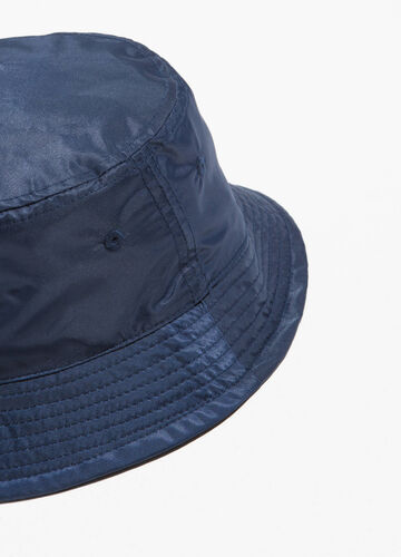 Fishing hat with stitching