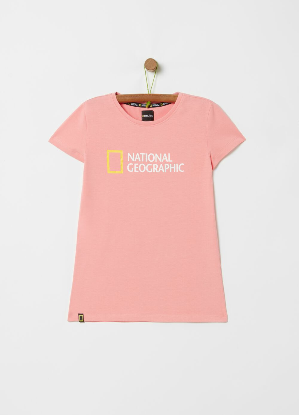 National Geographic stretch T-shirt