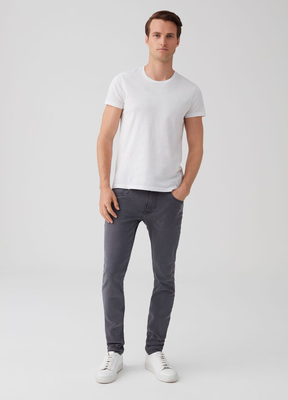Super-skinny jeans with five pockets