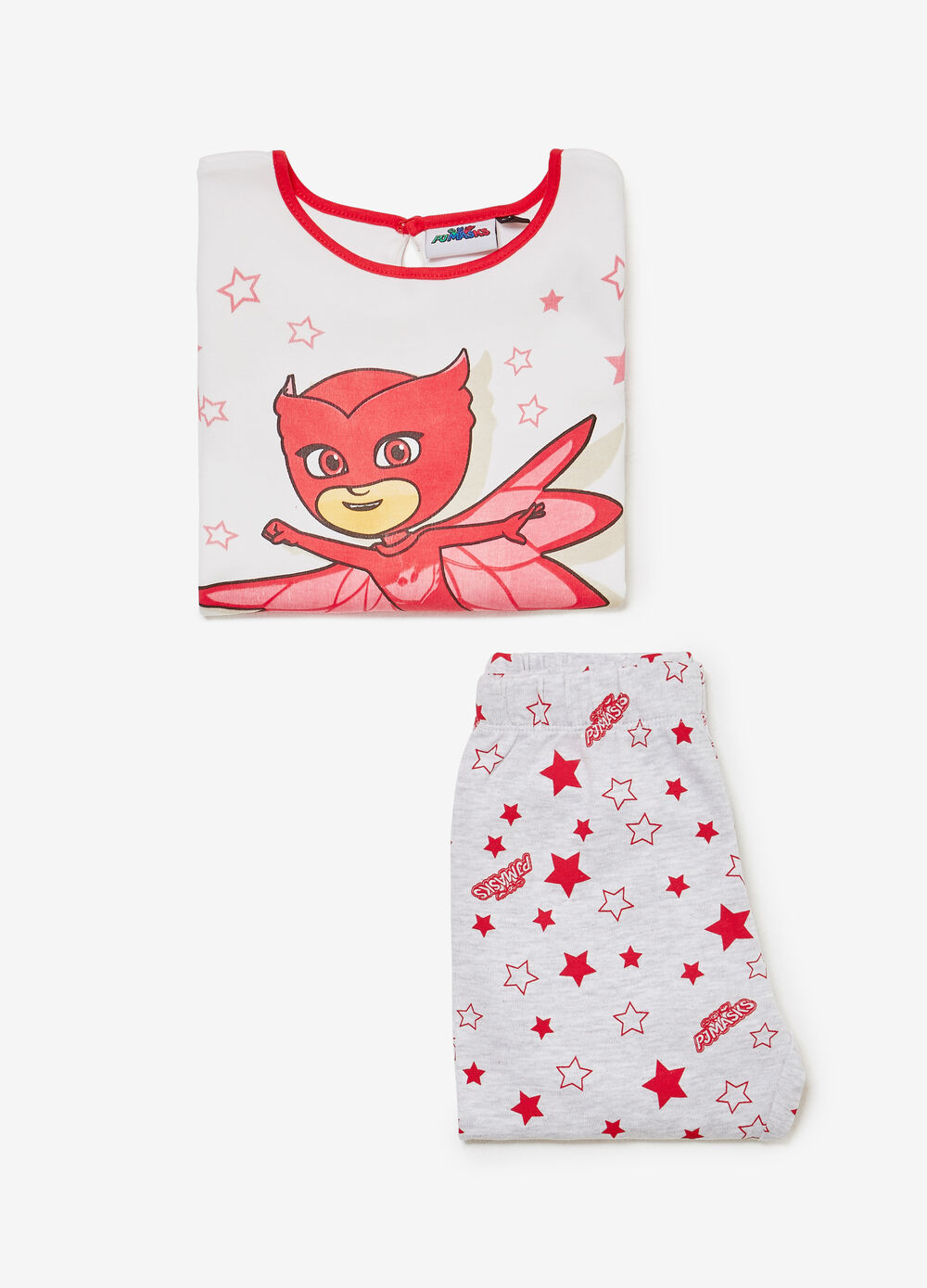 Pyjamas in 100% cotton with Owlette print