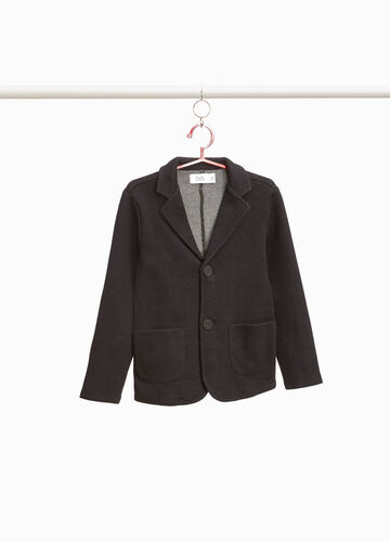 100% cotton blazer with two-button fastening