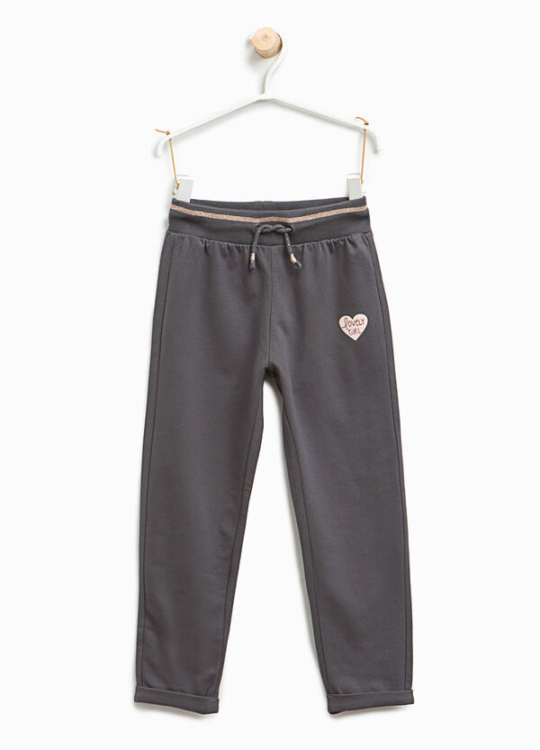Joggers with hearts print | OVS