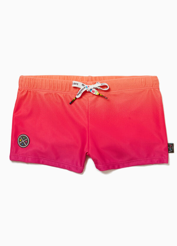 Shark swim boxer shorts by Maui and Sons