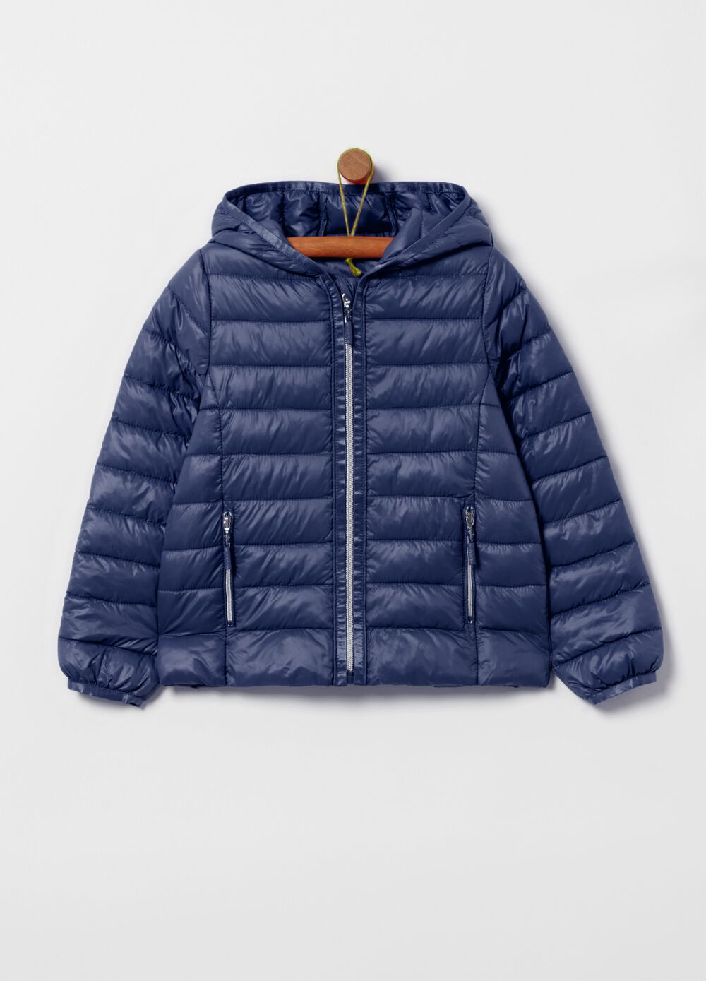 Ultra lightweight quilted jacket with zip
