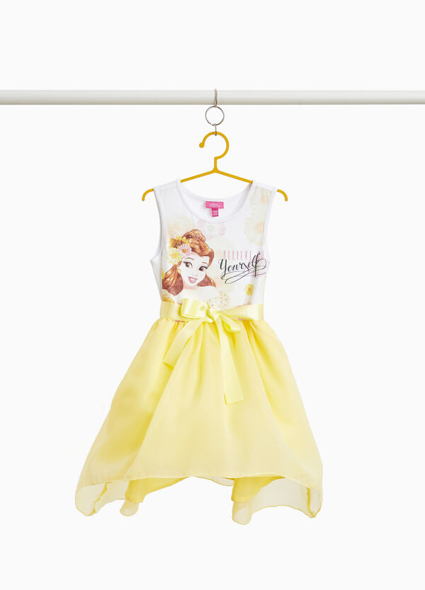 Beauty and the Beast dress with bow