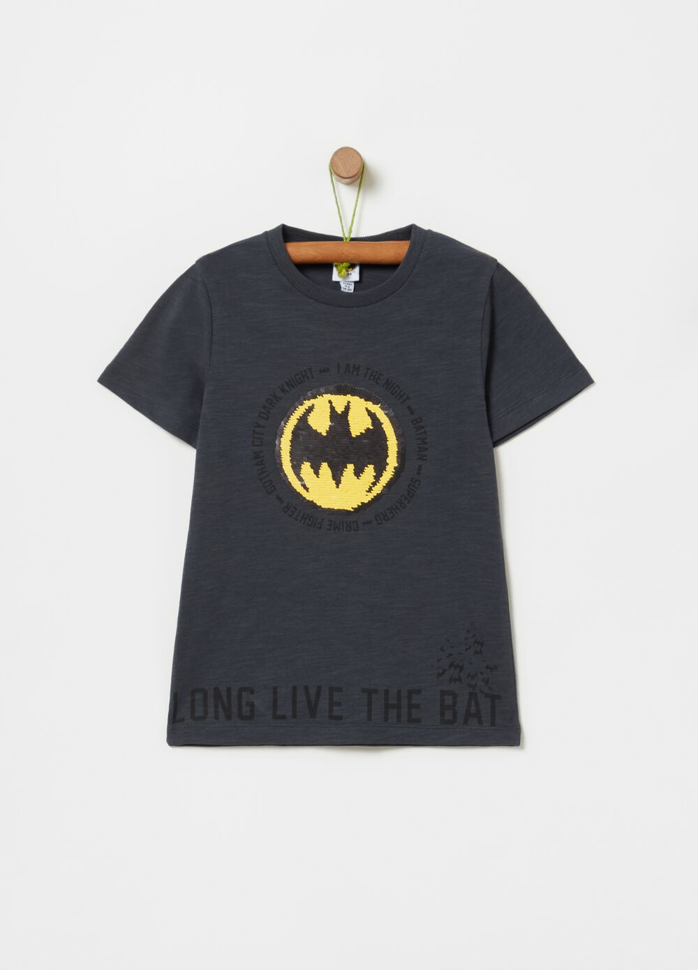 Warner Bros Batman T-shirt in 100% cotton