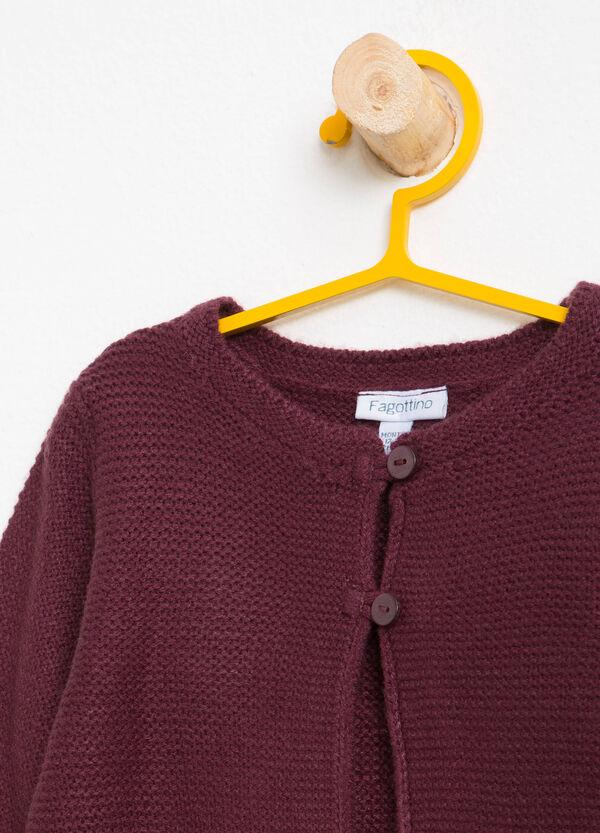 Knitted crop cardigan | OVS