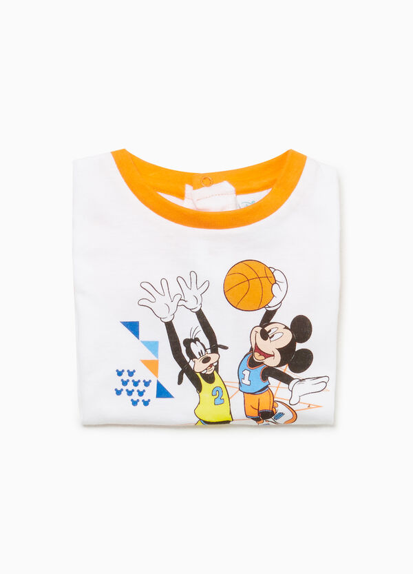 Mickey Mouse and Pluto sleepsuit
