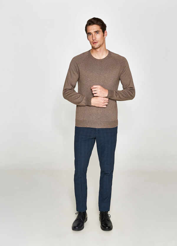 Rumford cotton and cashmere pullover