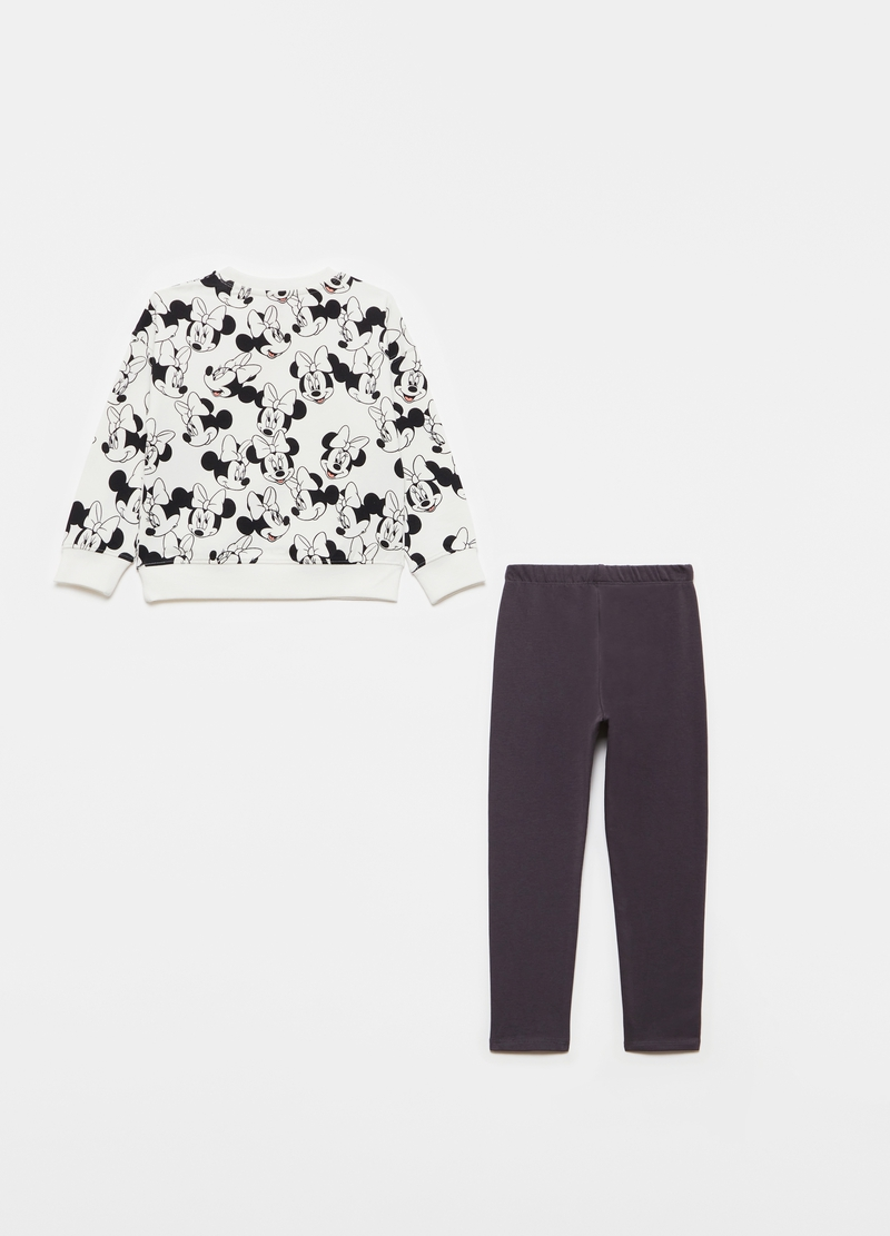 Jogging set with Disney Minnie Mouse pattern image number null