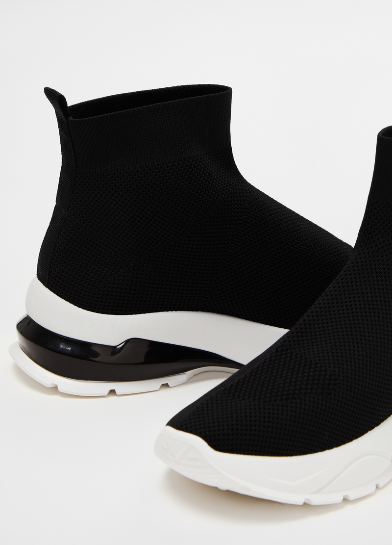 Microfibre sneakers with thick sole image number null