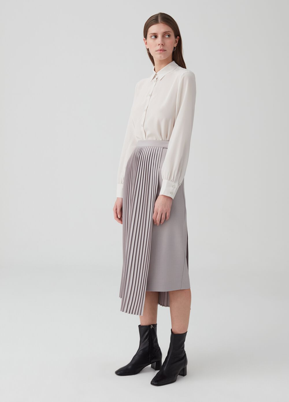 OVS Premium pleated skirt