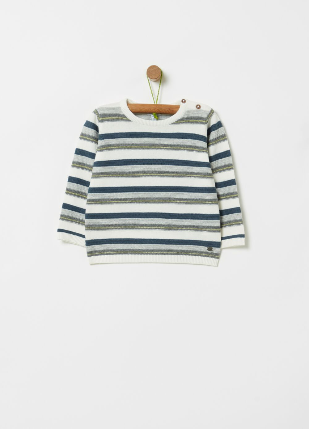 100% organic cotton knitted pullover