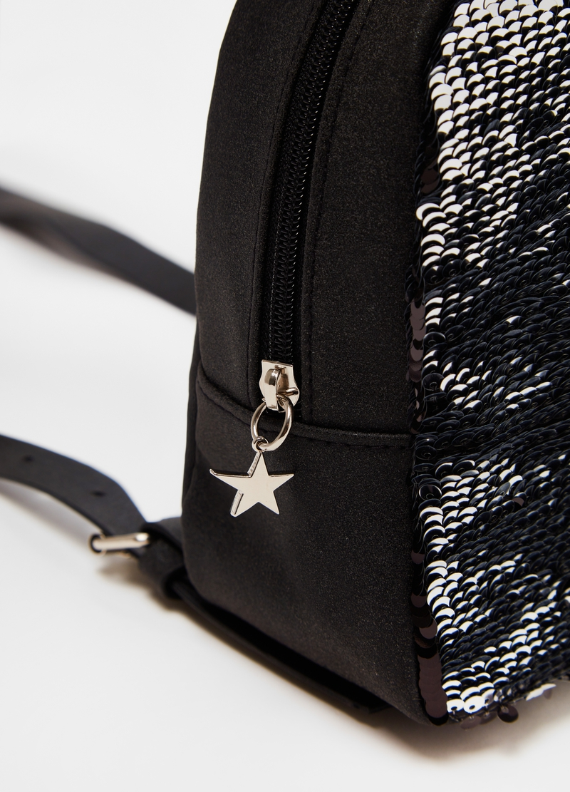 Glitter backpack with sequins image number null