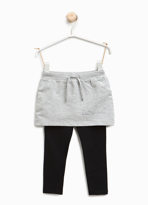 Culottes with lettering print | OVS