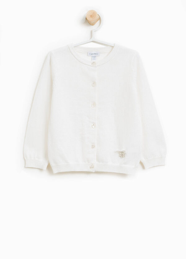 Cashmere and cotton cardigan | OVS