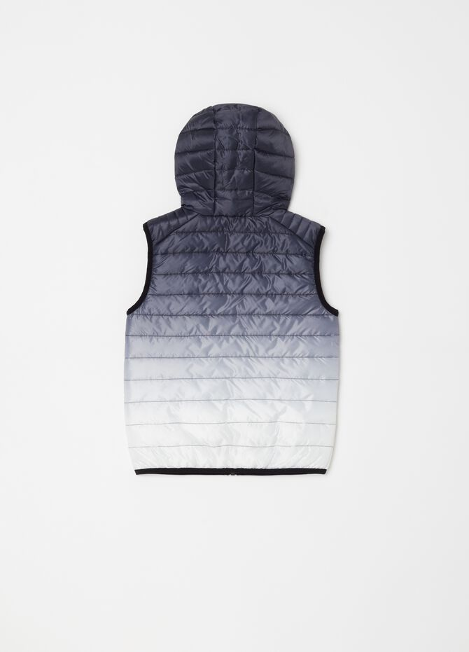 Lightly padded gilet with zip