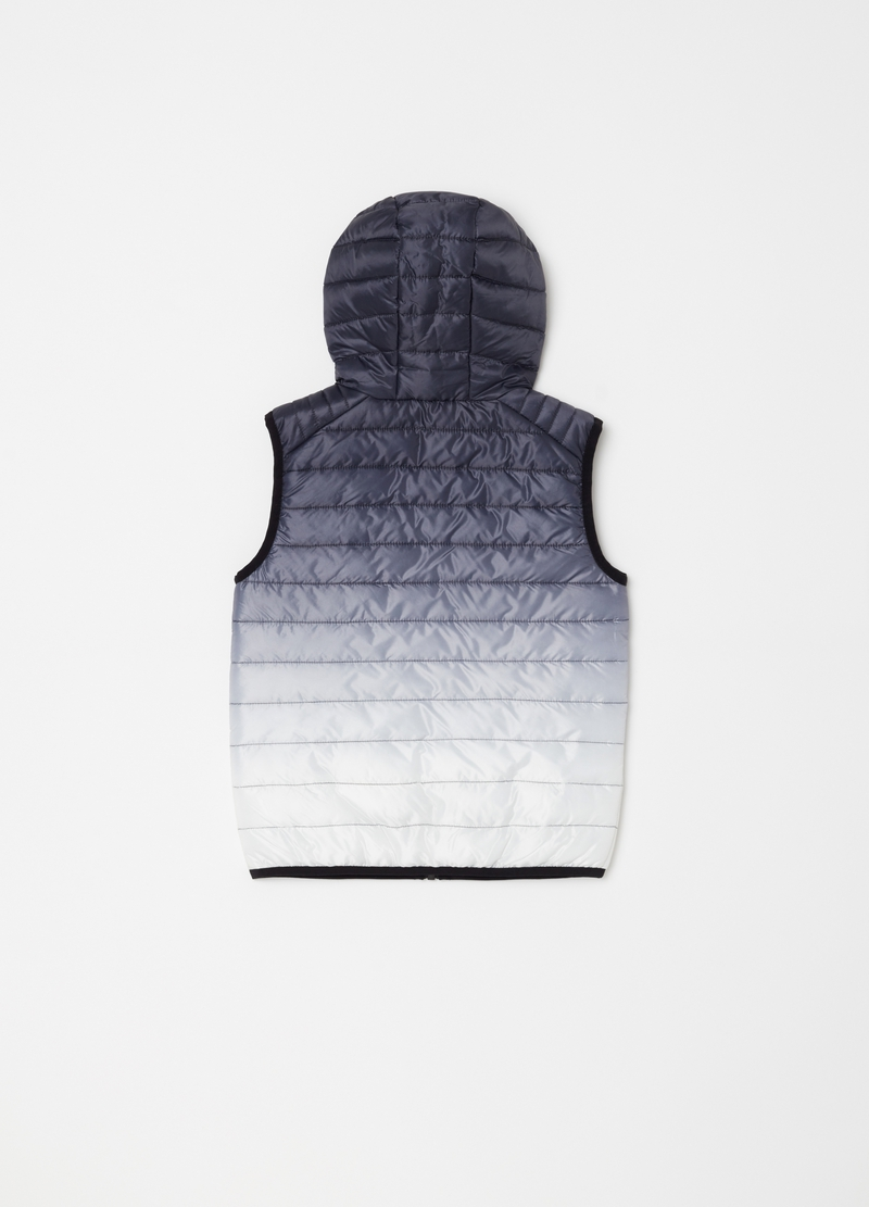 Lightly padded gilet with zip image number null