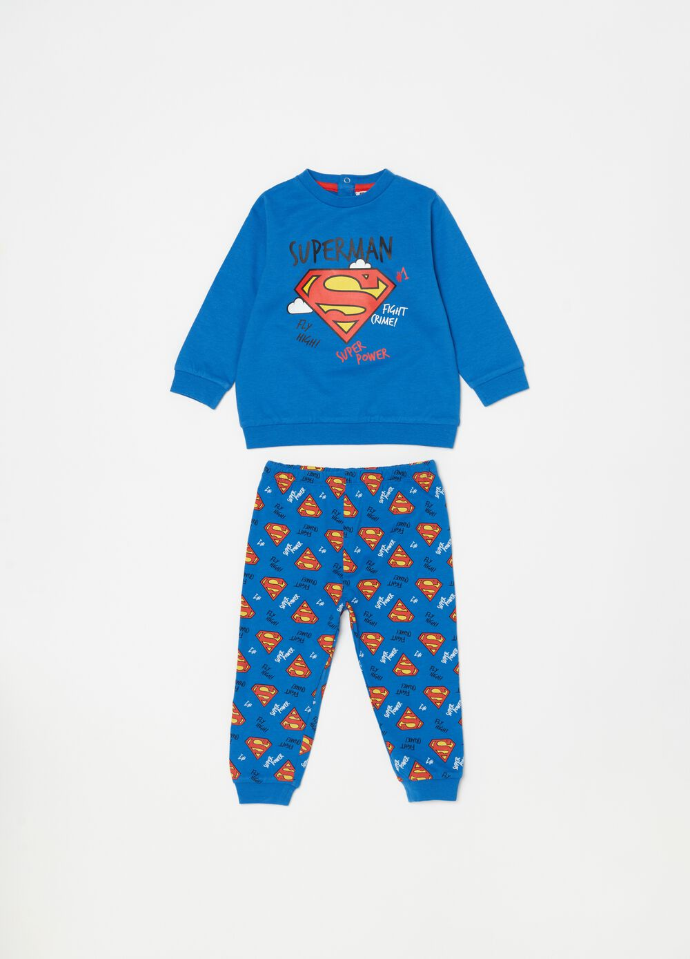 Pijama estampado Warner Bros Superman