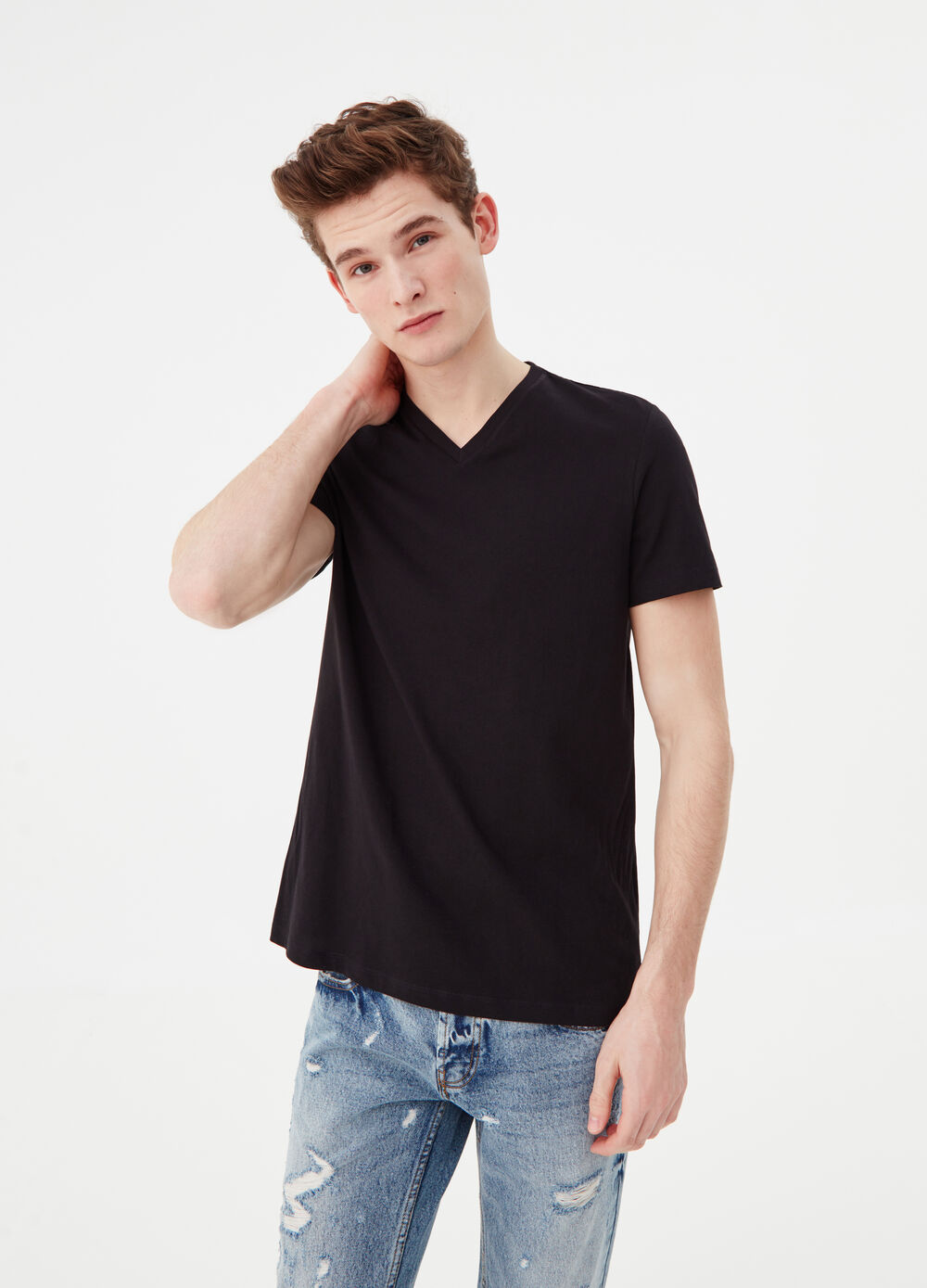 T-shirt in soft cotton jersey