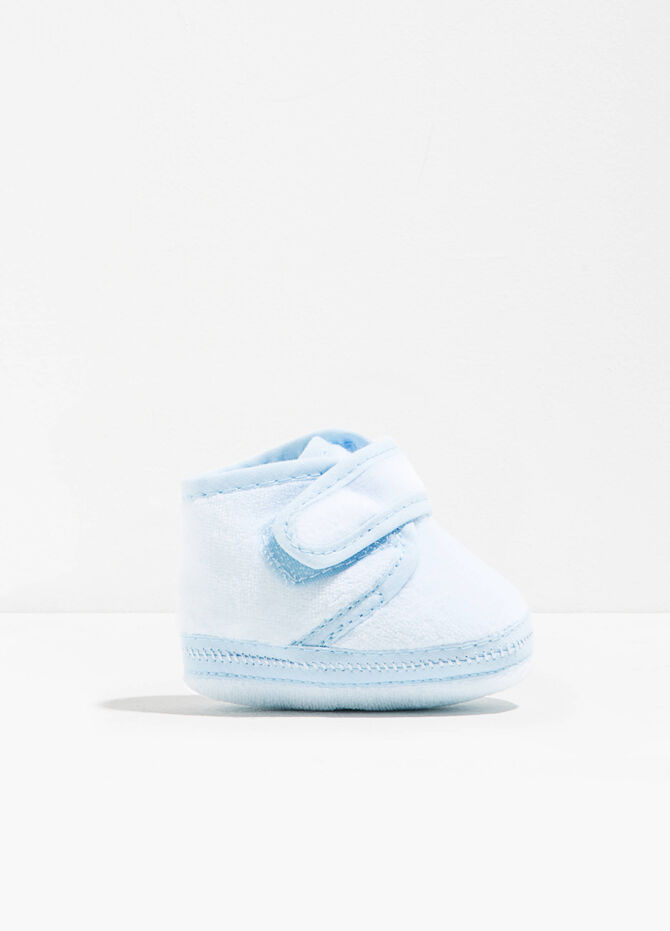 Baskets en velours de coton