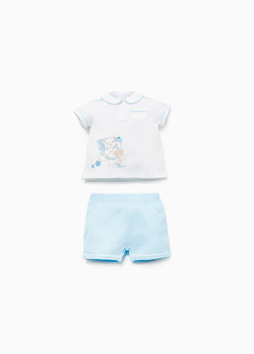 THUN two-tone outfit in 100% cotton