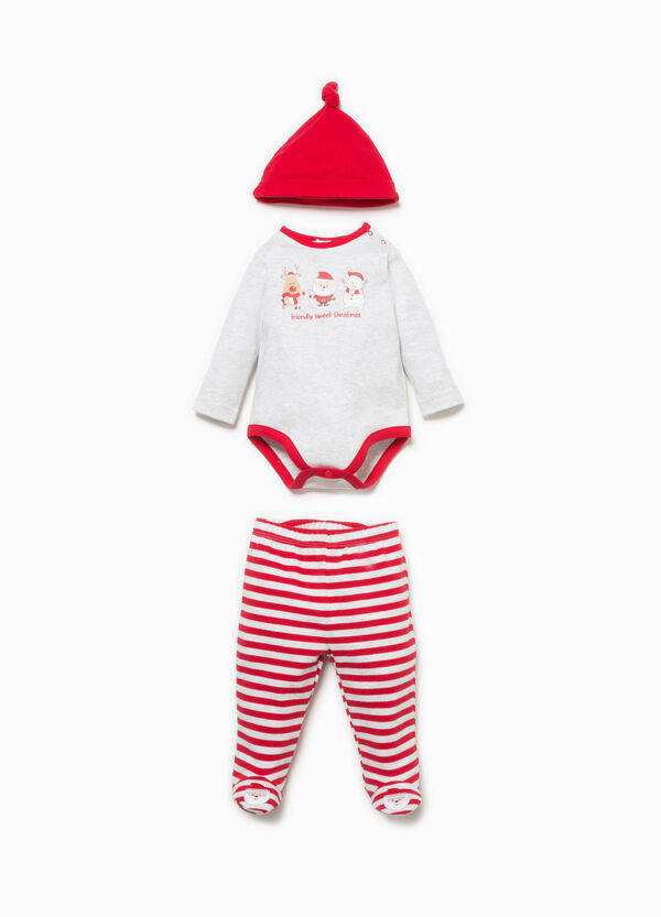 100% cotton Christmas outfit