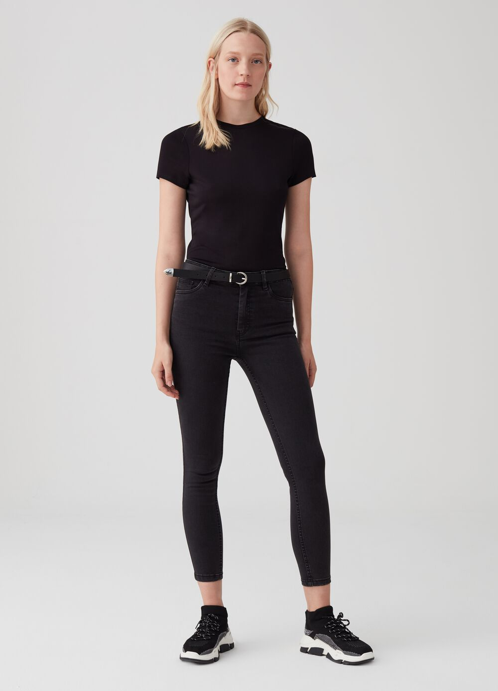 Soft touch superskinny stretch jeans