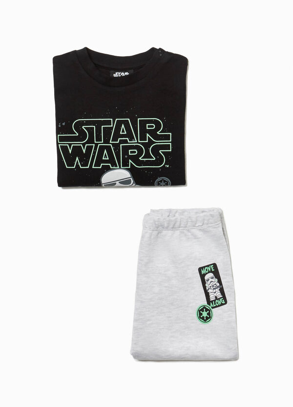100% cotton pyjamas with Star Wars print