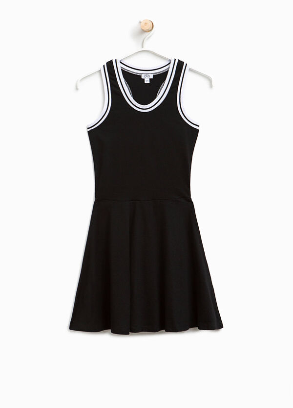 Sleeveless dress in cotton | OVS