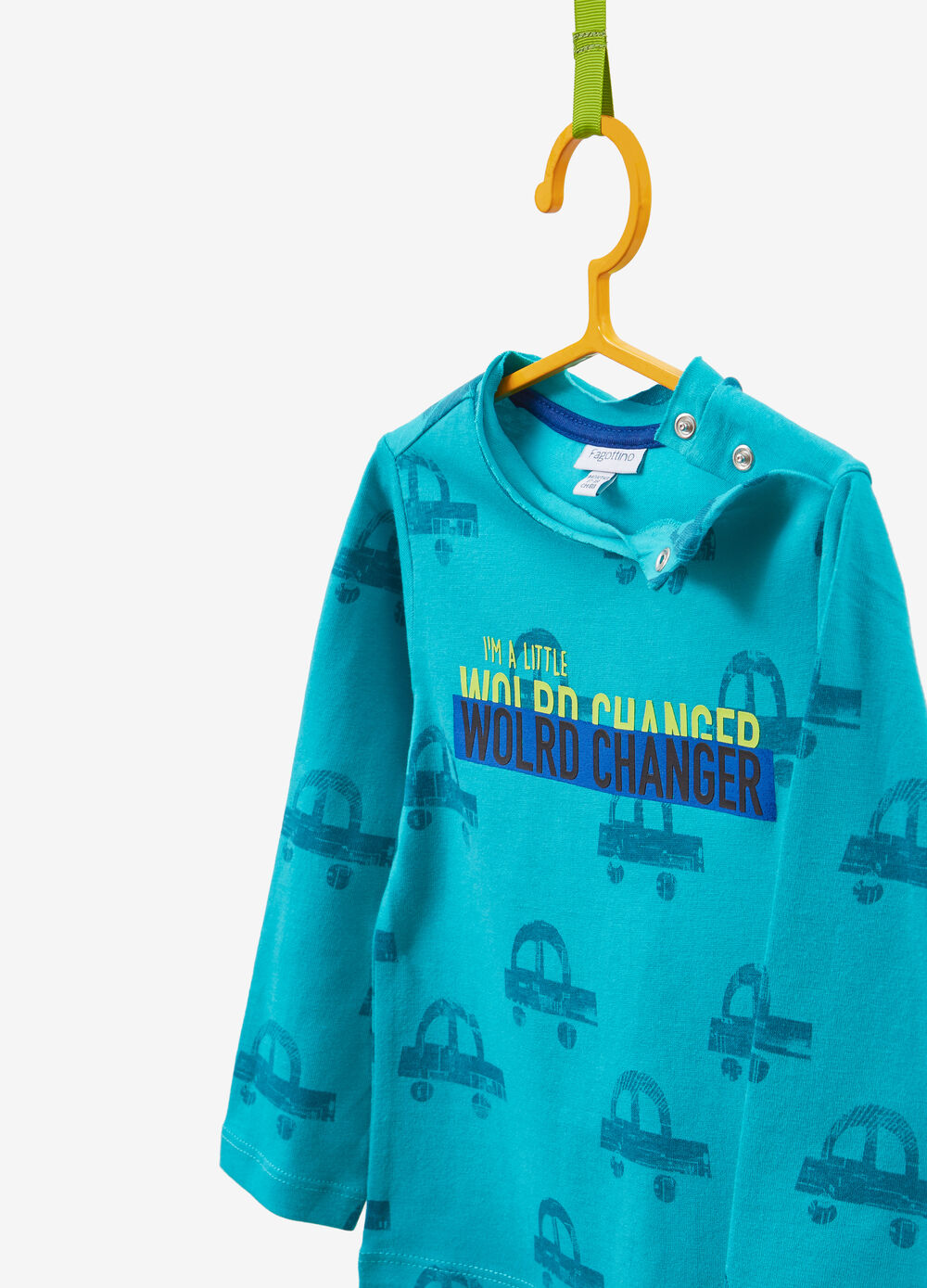 100% cotton T-shirt with cars print