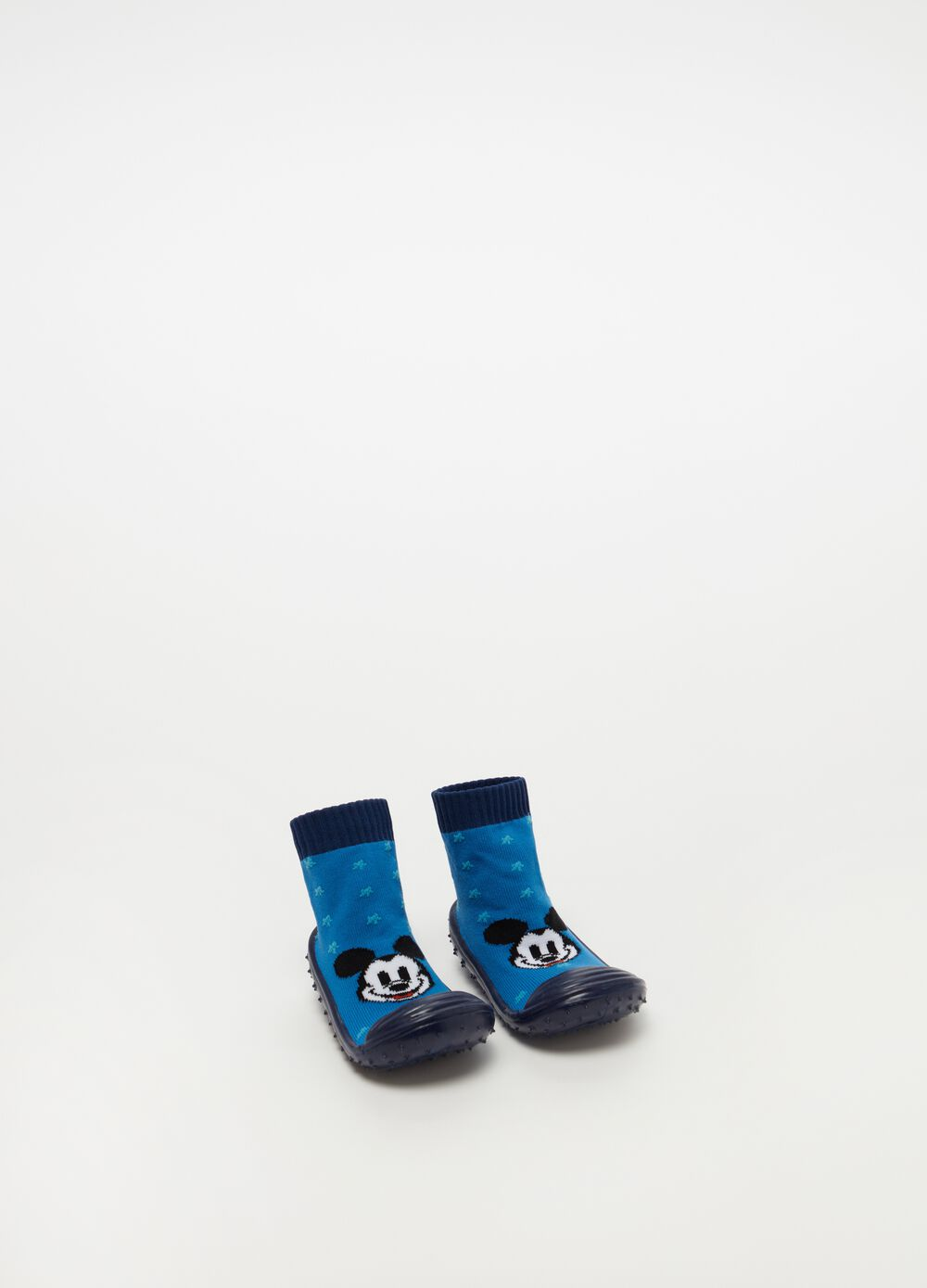 Shoes with stars and Mickey Mouse pattern