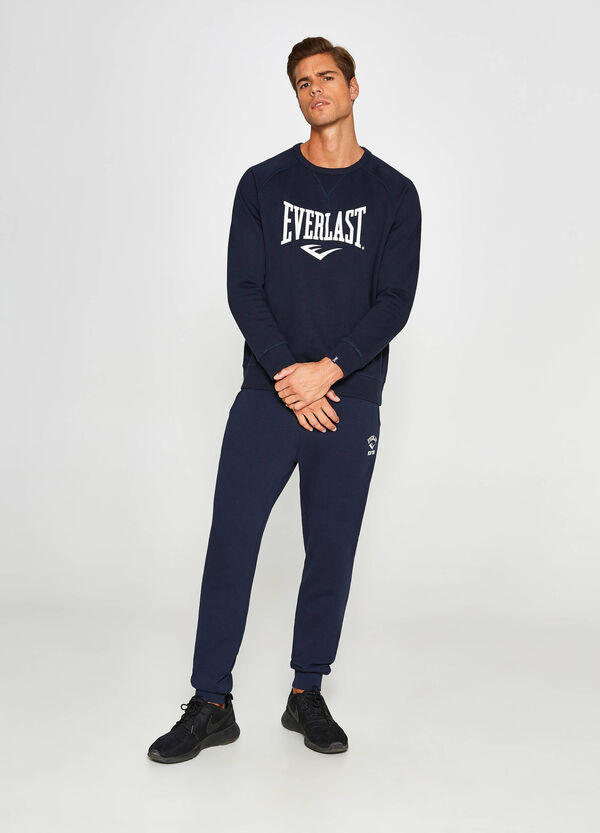 100% cotton Everlast sweatshirt with crew-neck | OVS
